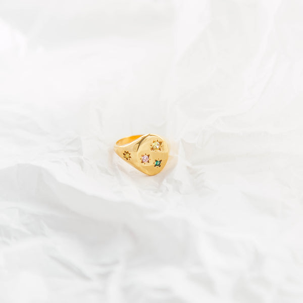 The Calvin Ring in Colour