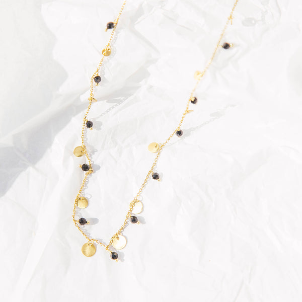 Frankie Necklace in Black Onyx