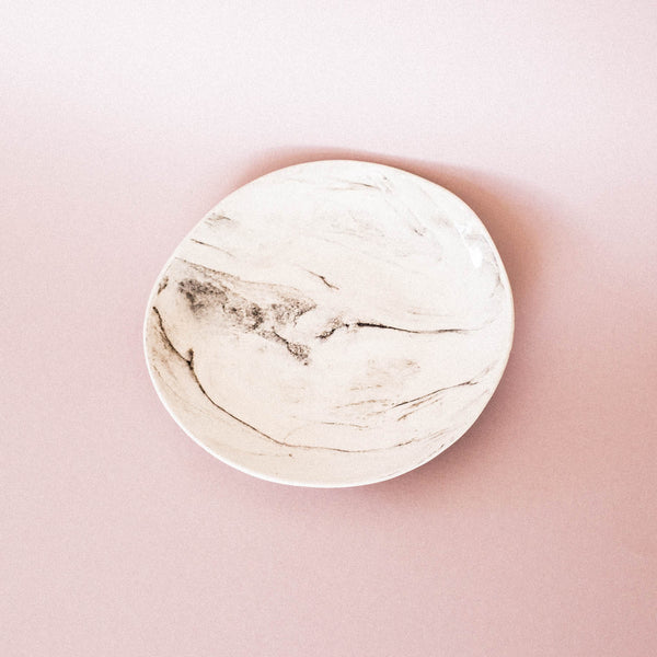 Marble Large Serving Platter by Klomp
