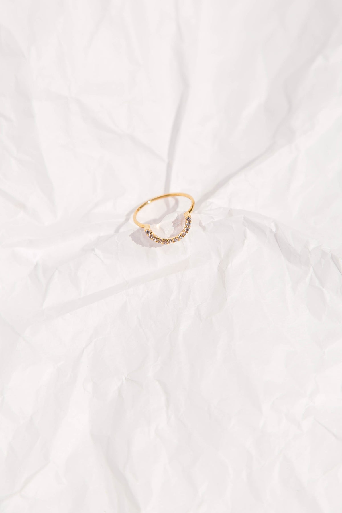 Ultimate Diamond Arc Ring