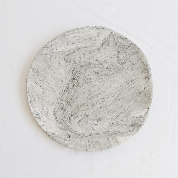 Marble Cake Plate by Klomp