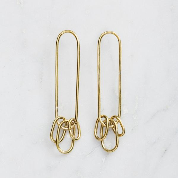 Matter of Fakt Vista Trio Earrings