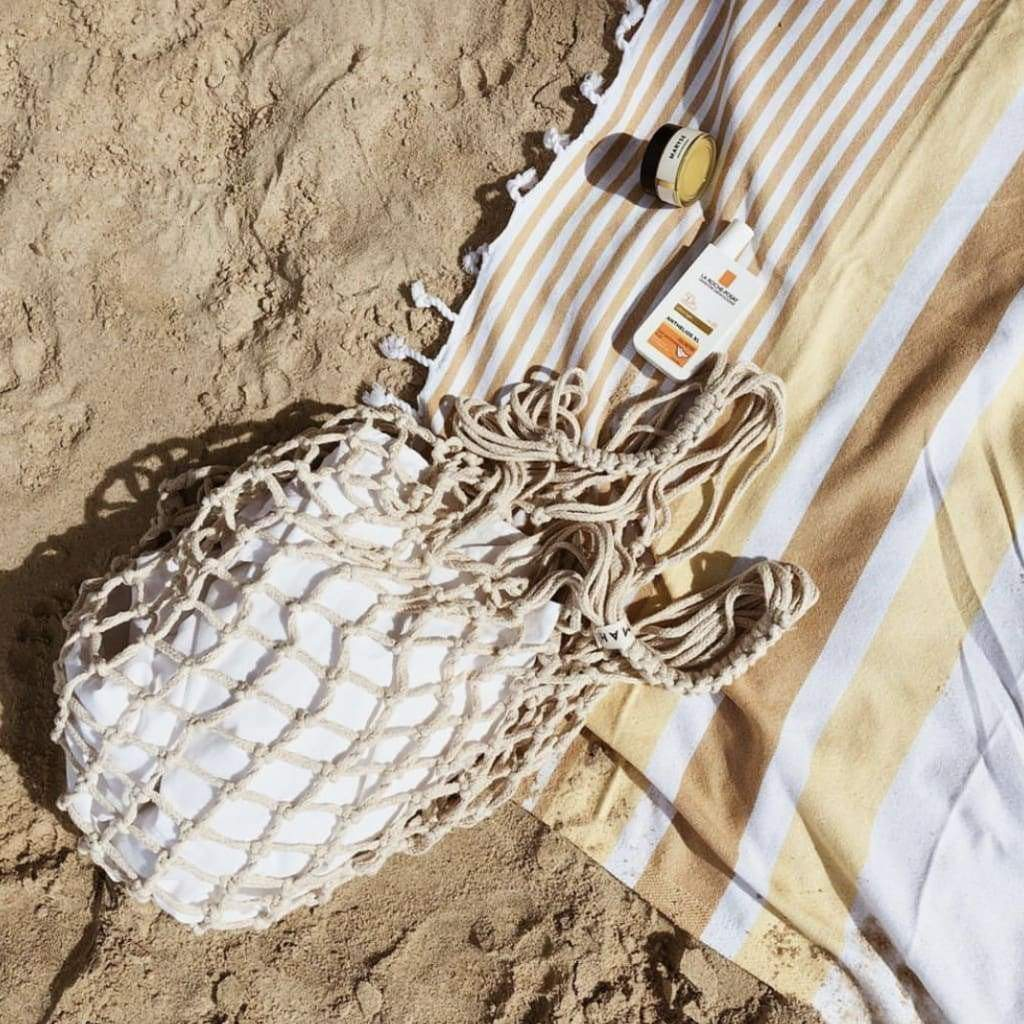Monopoli Mustard Turkish Towel