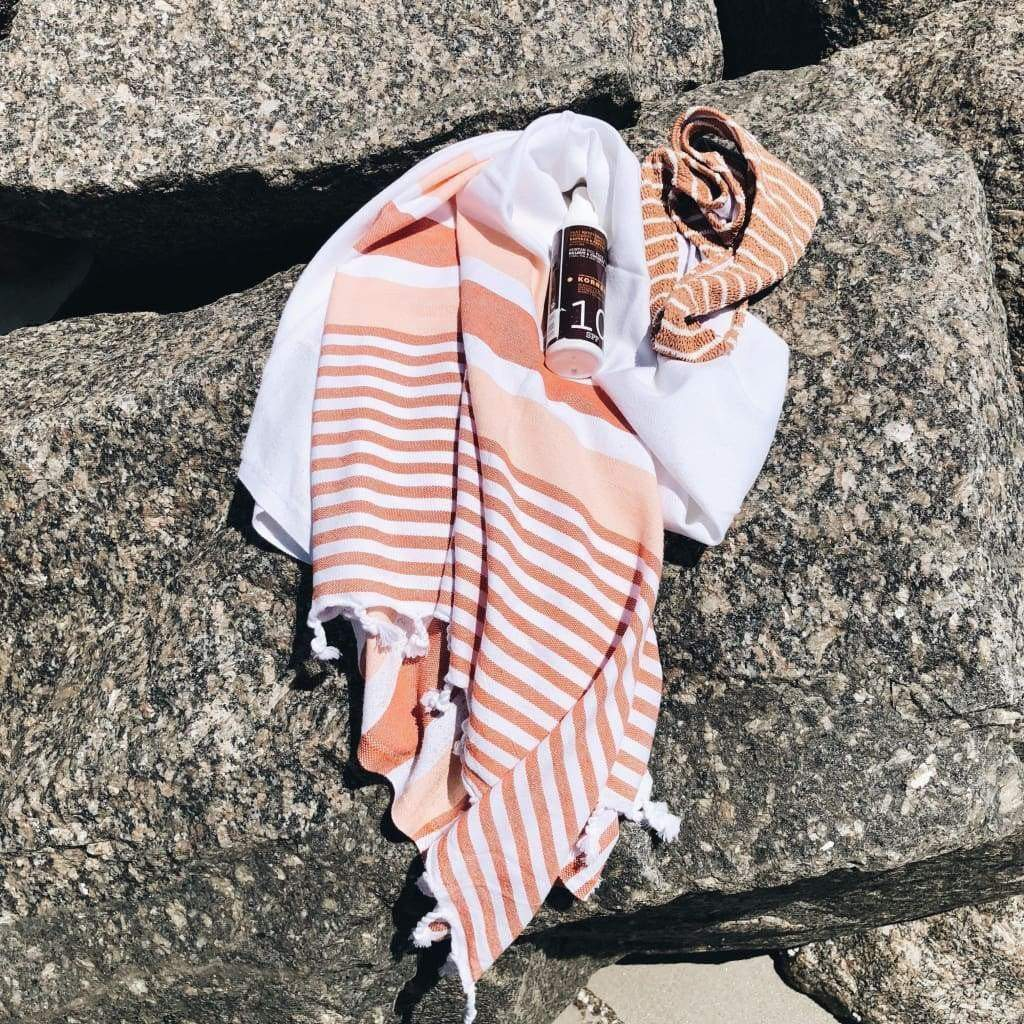 Monopoli Peach Turkish Towel