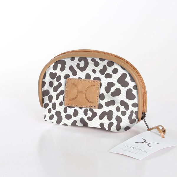 Makeup Bag in Cheetah