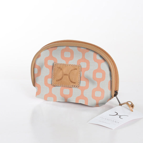 Makeup Bag in Peach