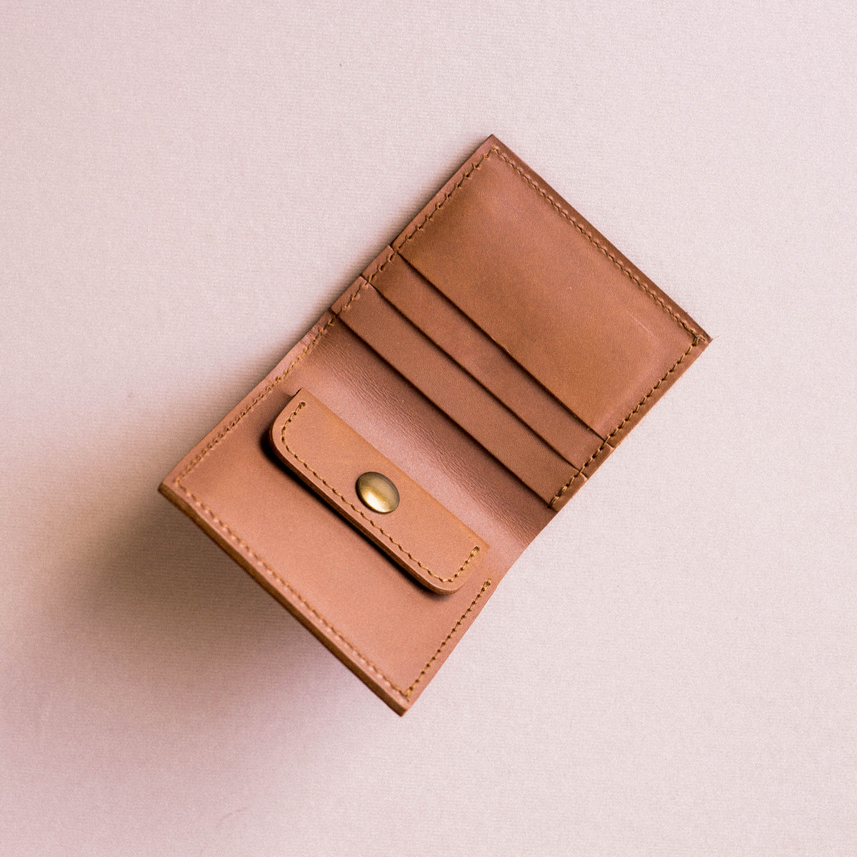 All-In Wallet in Tan