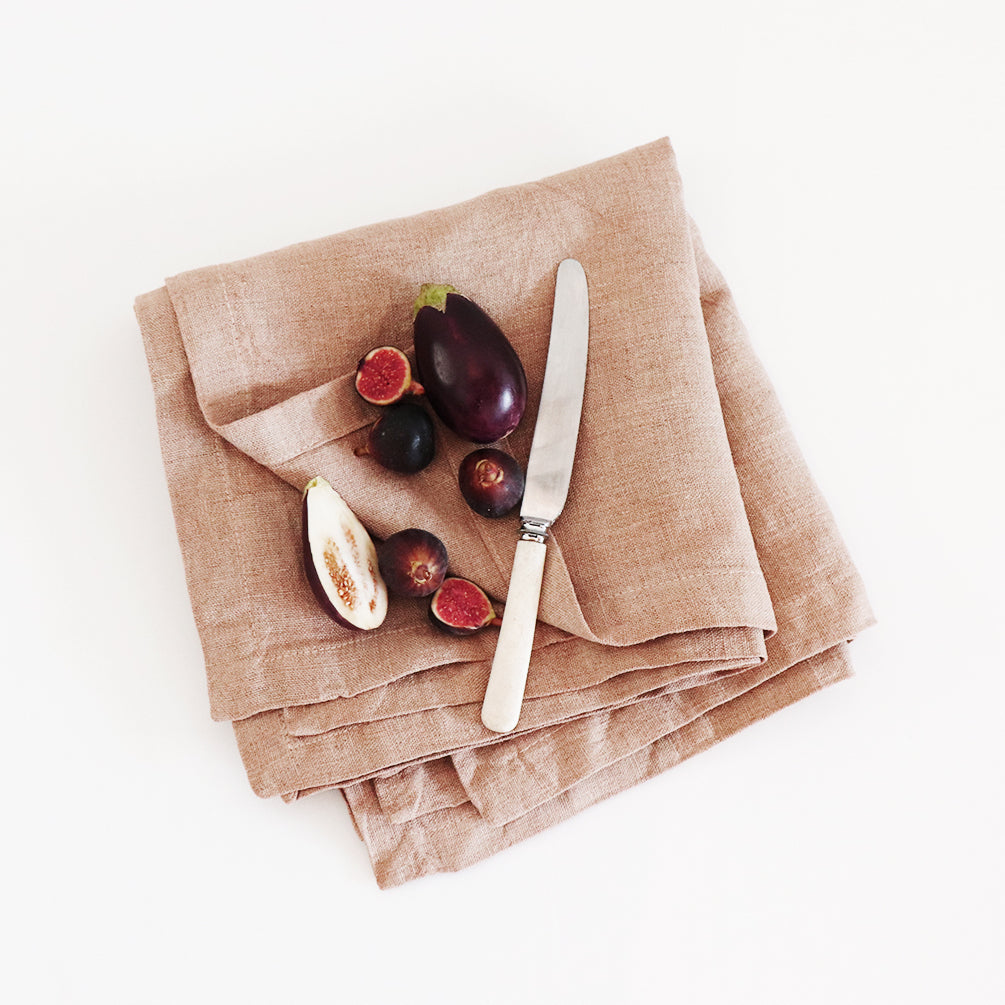 Lowveld Natural Napkins by Beagle + Basset for Jimnojean