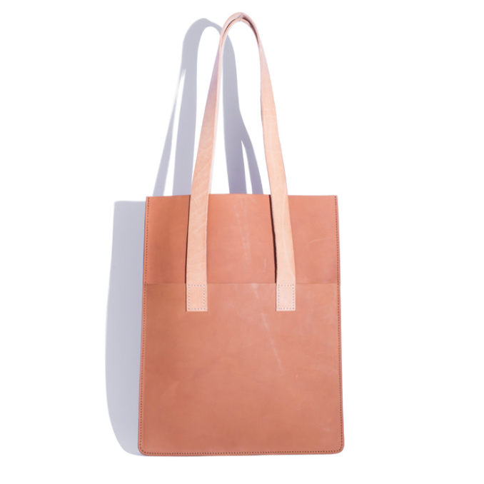 Parallel Tote - Tan