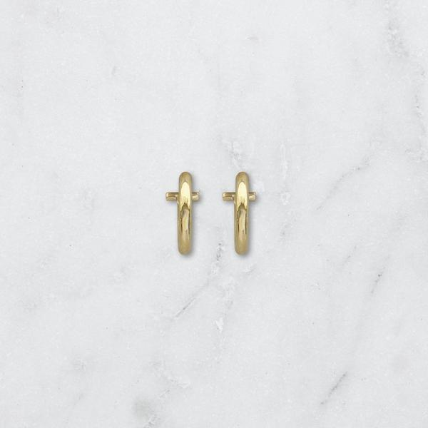 Small Vista Hoop Earrings by Matter of Fakt