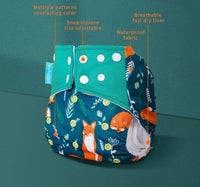 State of Baby Reusable Diaper - Whales