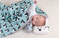 State of Baby 4 Layer Muslin Baby Blanket - Panda