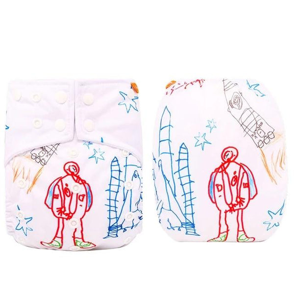 LIMITED EDITION - Reusable Diaper - 1 diaper + 1 FREE Insert (various colours)