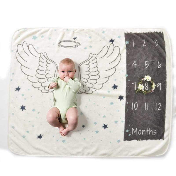 State of Baby Milestone Photo Prop - Wings