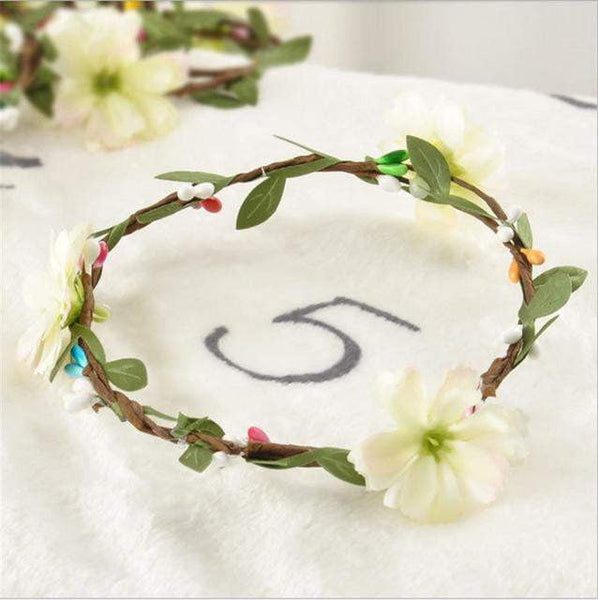 State of Baby Milestone Photo Prop - Wreath