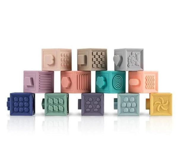 State of Baby 3D Embossed Building Block Set