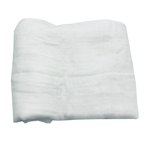 Bamboo Muslin Swaddle - White