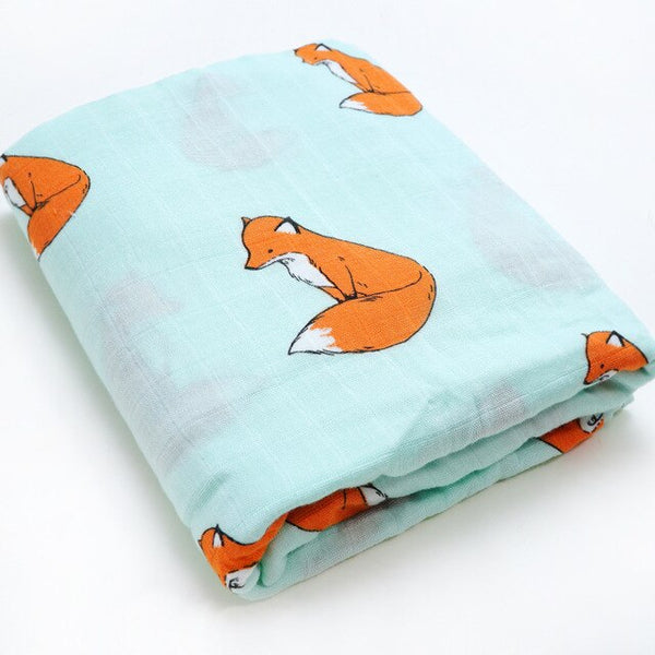 Bamboo Swaddle - Fox