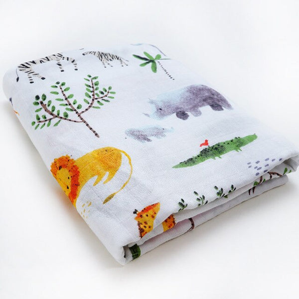 Bamboo Swaddle - Jungle