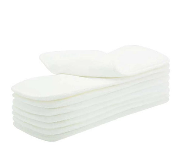 Reusable Diaper Inserts - Microfiber (10 pieces)