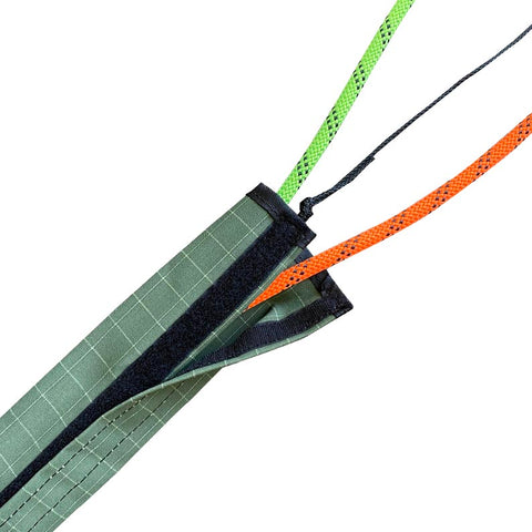 Green Canvas Rope Protector