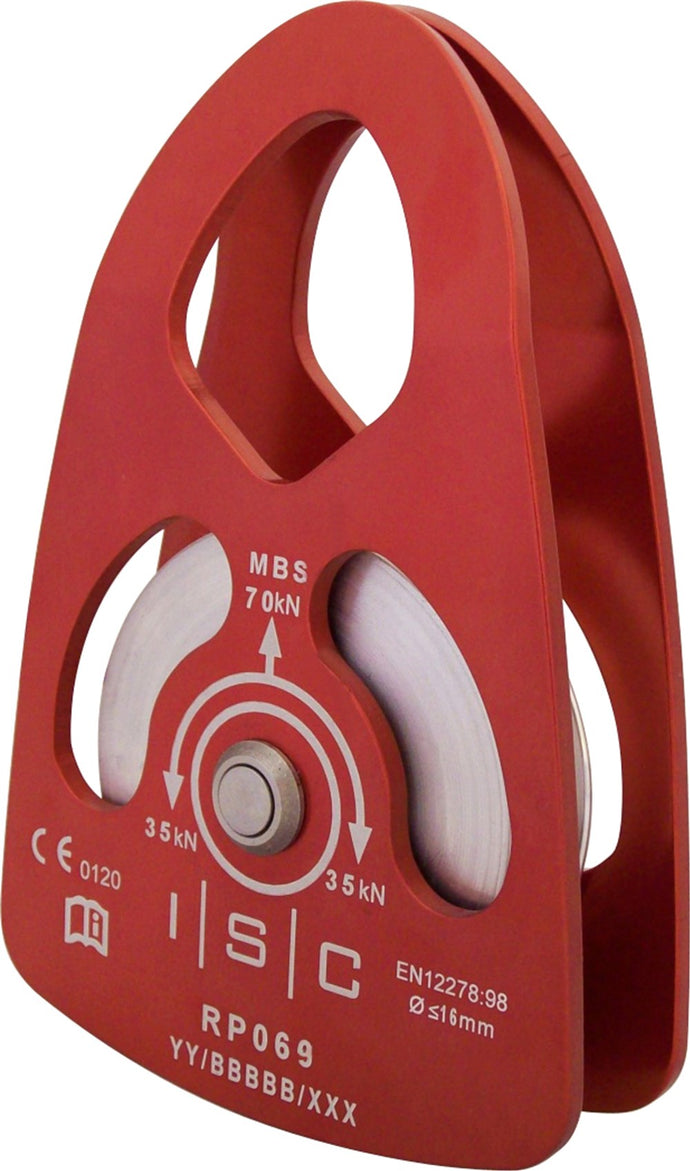 ISC Large Aluminium Rigging Pulley 70kN