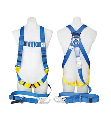 3M™ PROTECTA® FIRST Industrial Harness with Lanyard and Snap Hook
