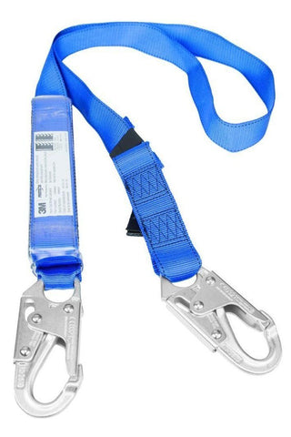 3M PROTECTA® FIRST Shock Absorbing Lanyard - Single Tail - LRV8 Rescue