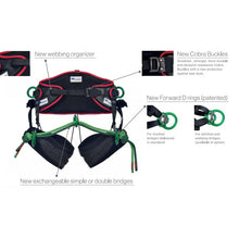 Load image into Gallery viewer, Teufelberger treeMOTION EVO Climbing Harness