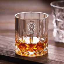 Load image into Gallery viewer, Personalised Engraved Whiskey Tumbler Glass 7oz