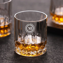 Load image into Gallery viewer, Personalised Engraved Whiskey Tumbler Glass - EDSG