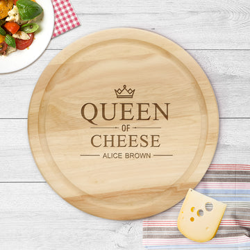Personalised Cheese Board | Chopping Board - Personalised Wedding Anniversary Gift - EDSG