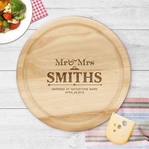 Personalised Cheese Board | Chopping Board - EDSG