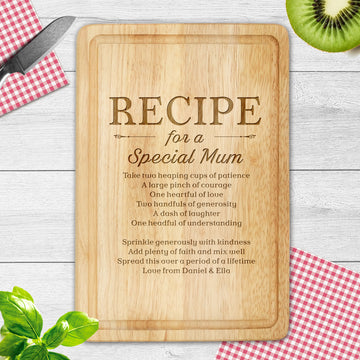 Personalised Chopping Board, Laser Engraved Housewarming Gift - EDSG