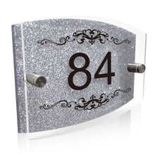 Load image into Gallery viewer, Personalised House Name Sign Door Plaque Number Only