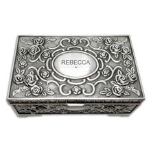 Load image into Gallery viewer, Personalised Engraved Jewellery Box