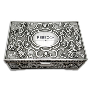 Personalised Engraved Jewellery Box