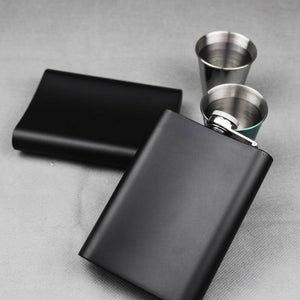 Personalised Hip Flask - Wedding gift your text - EDSG