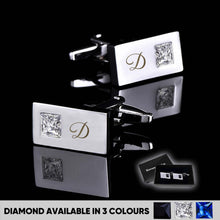 Load image into Gallery viewer, Personalised Engraved Cufflinks - EDSG