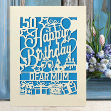 Load image into Gallery viewer, Personalised Happy Birthday Cards - EDSG