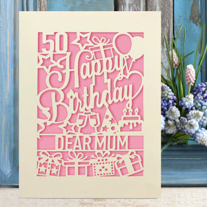 Personalised Happy Birthday Cards - EDSG