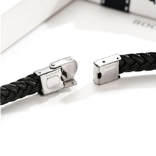 Load image into Gallery viewer, Personalised  Leather Bracelet Fathers Day Gift - EDSG