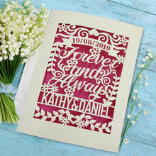 Load image into Gallery viewer, Personalised Wedding Card - EDSG