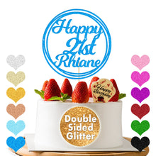 Load image into Gallery viewer, Personalised Welcome Baby Cake Topper