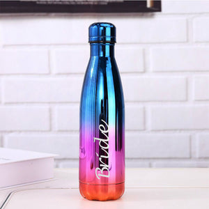 Personalised Insulated Water Bottle - EDSG