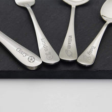Load image into Gallery viewer, Personalised Stainless Kids Cutlery Engraved Flatware - EDSG