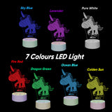 Personalised Children's Night Light My Little Pony - EDSG