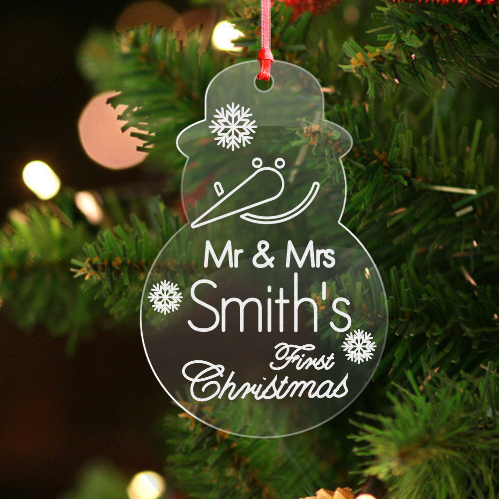 Personalised Christmas Gift For Couple - EDSG