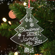 Load image into Gallery viewer, Personalised Christmas Tree Decoration - EDSG