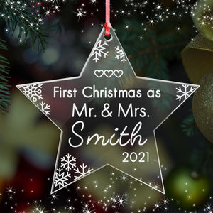 First Christmas as Mr & Mrs - EDSG